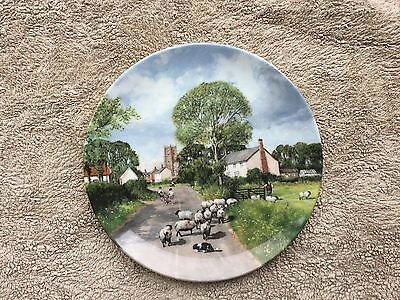 Royal Doulton collectors plate,'In the footsteps of Constable' series.