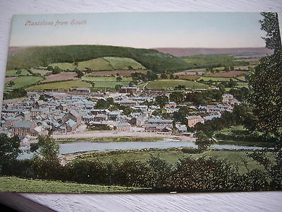 Vintage Postcard Wales Llanidloes From The South Unposted Edwardian