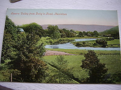 Vintage Postcard Wales Severn Valley Dollys Road Llanidloes Unposted Edwardian