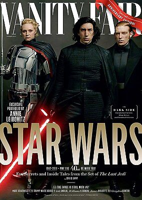 Vanity Fair Magazine Summer 2017 Star Wars: Last Jedi - Kylo Ren Captain Phasma