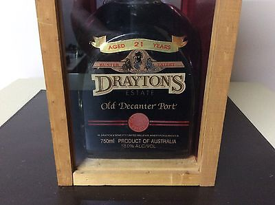 Drayton Estate Old Decanter Port Aged 21 Years