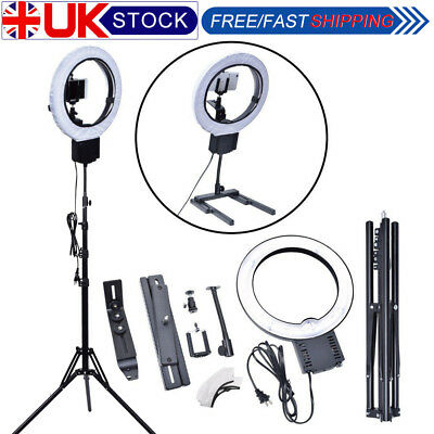 Fotoconic 40W 32cm 5400K Fluorescent Ring Light Total Kit fr Studio Photo Video