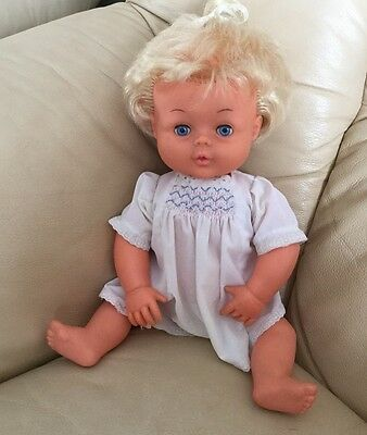 tiny tears baby doll vintage Top Knot