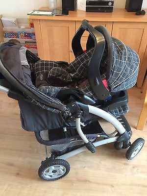 Graco Pushchair And Car Seat System - From Birth Onwards