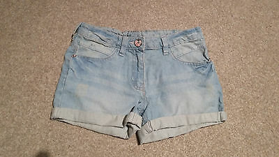 A Pair Of Girls Next Denim Shorts Size 10 Years