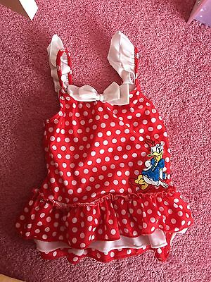 Disney Store Girls Swim Suit Age 18-24 Months