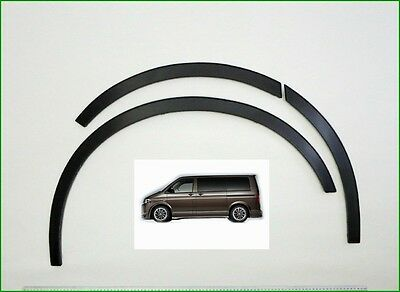 03-14 Vw Transporter T5 Brand New Wing Wheel Arch Trim set - BLACK MATT. sale