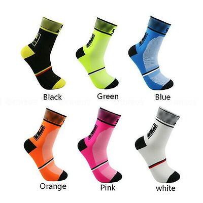 2Pcs Unseix Riding Cycling Sports Socks Men Women Breathable Bicycle Footwear