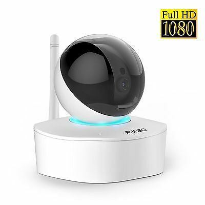 AKASO 2MP 1080P HD Wireless Wifi IP Security Camera Indoor Home Surveillance Sys