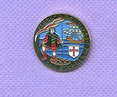 Christopher Columbus  Hat Lapel Pin Ab654