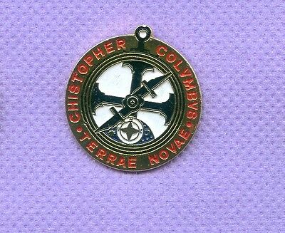 Christopher Columbus  Hat Lapel Pin Ab655