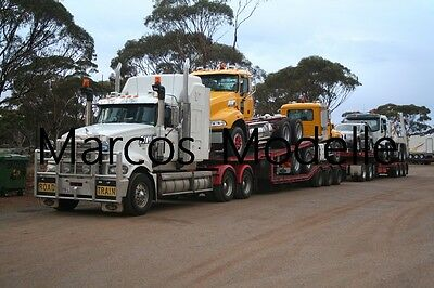 Truck Photo - Lkw Foto Mack Trident Roadtrain LKW-Transport TOLL Australien /772