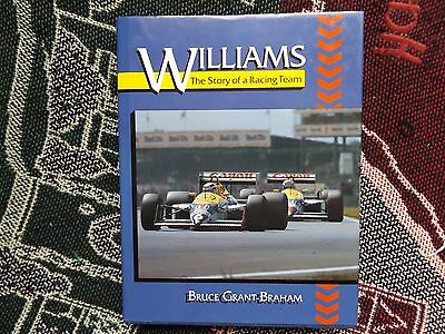 Williams: The Story Of A Racing Team - Bruce Grant-Braham - 1990 Hb Dj Book F1