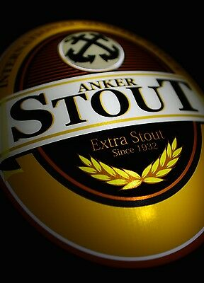 ORIGINAL Mint Condition ANKER STOUT BEER Neon Sign