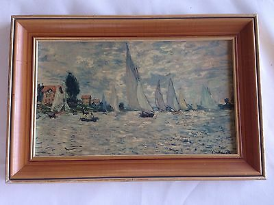 Yacht Sail Painting Reproduction . By Clamariat