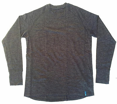 NEW! OUTDOOR EXPEDITION 100% MERINO WOOL L/S BASE LAYER, mens XXL, baselayer