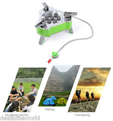 BRS Outdoor Camping Cooking Picnic Burner Portable Folding Butane Gas Stove