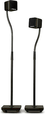 Pair Of Cambridge Audio MINX CA600P Home Audio Speaker Stands - READ