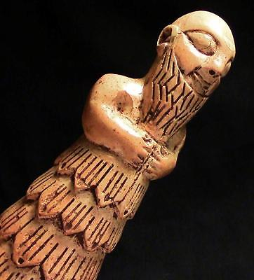 CLASSICAL SUMERIAN VOTIVE STATUE Temple Worshipper ancient replica