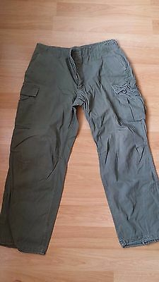 Vietnam Jungle Green Tropical Pants Trousers Ripstop Popelin Us Army Usmc Sp