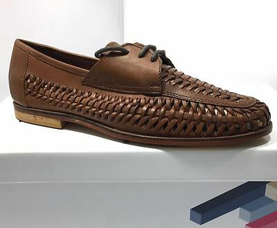 Mens Leather ​Brixton ​Shine Boat Smart Formal Summer​ ​Office Lace Up Shoes New