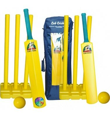 Ozi Plastic Double Cricket Set