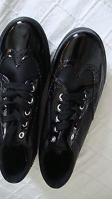 Gents Black Brogue Casual Shoes/Trainers Size 10/11