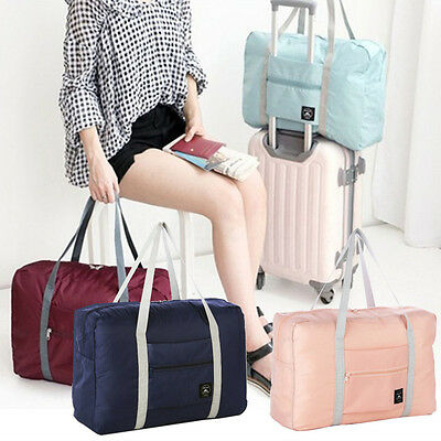 Fashion Capacity Luggage Storage Bag Large Waterproof Foldable Travel Handbag