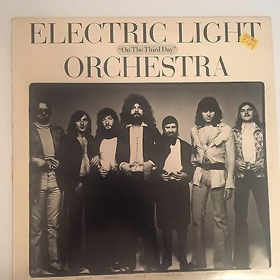 ELECTRIC LIGHT ORCHESTRA ELO - On The Third Day. Vinyl Record Album LP Classic