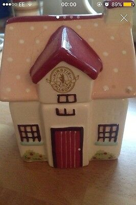 Pink Cottage House Ornament With Note Paper Inside