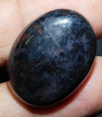 39cts. NATURAL LOVELY Sugilite 26X20 Oval Cab Loose Gemstone SK-10