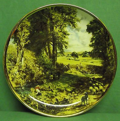 """the Cornfield"" By John Constable Decorative Plate - Lord Nelson Pottery - 1978."