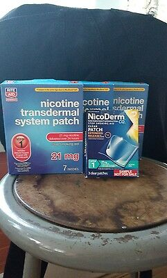 Rite Aid Nicotine transdermal system patch- Step 1- 21mg 7 patches-Exp. 04/2018