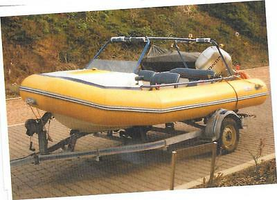 boat, Avon 4.1 metre Rigid Inflatable Boat