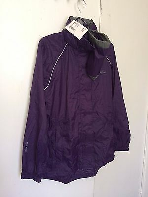 Mountain Warehouse Pakka Womens Waterproof Jacket Size 10
