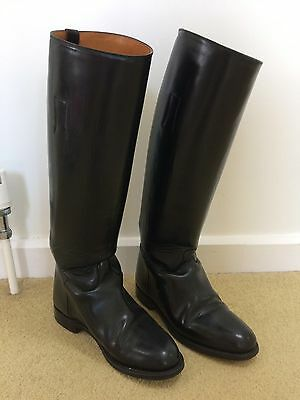Regent long leather Riding boots size 5
