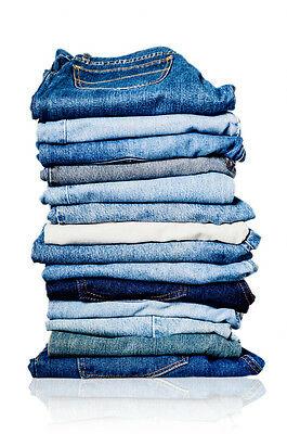 10 PC Womens Jeans Wholesale Lot Mixed Assorted Sizes Resale