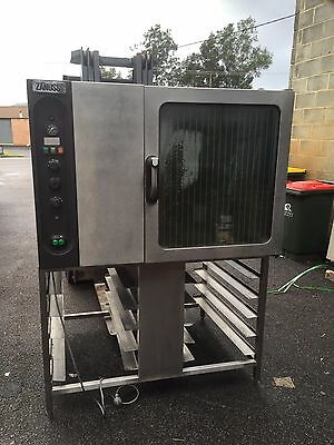 Zanussi 20 Tray Gas Combi/bakers Oven Good Working Condition. Italian Made