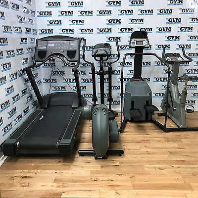 4 Piece Life Fitness 9100 / 9500HR Cardio Package (Commercial Gym Equipment)