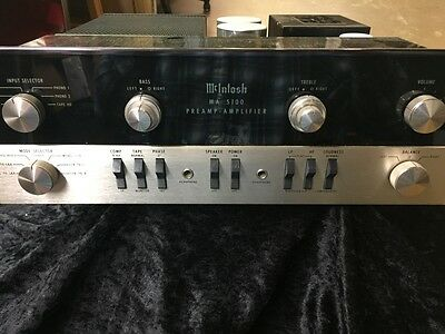 McIntosh 5100 Integrated Stereo Amplifier Vintage 1960's