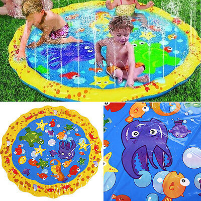Inflatable Pad Play Summer Baby Activity Water Mat Toy For Pool Swimming