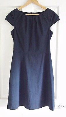 CUE Navy Business Dress Size 10
