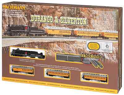 Bachmann Durango and Silverton N Gauge trainset plus bonus Woodlands DVD
