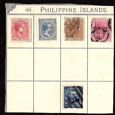 Stamps ~ PHILIPPINES PHILIPPINE ISLANDS ~ USA America Overprint & Very Old