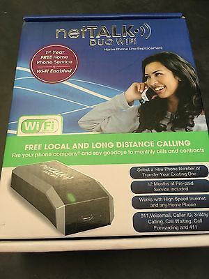 netTalk DUO WiFi VoIP Phone and Device Excellent