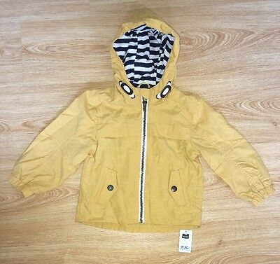 Baby Boys Lightweight Jacket / Anorak 12-18 Months New With Tags