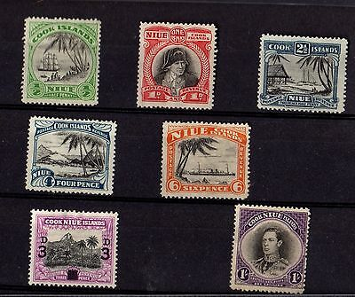 Stamps ~ NIUE AND THE COOK ISLANDS ~ Include High Values