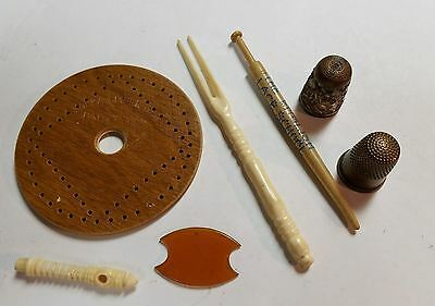 miscellaneous vintage sewing lot
