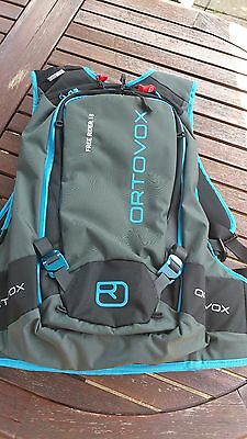 Ortovox Free Rider 18 backpack with SPS Pro2 back protection.