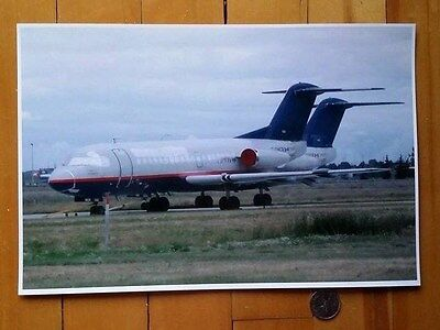 Original 8x12 Color Photo Print Canadian Regional Airlines F28 (YYC Aug 2003)